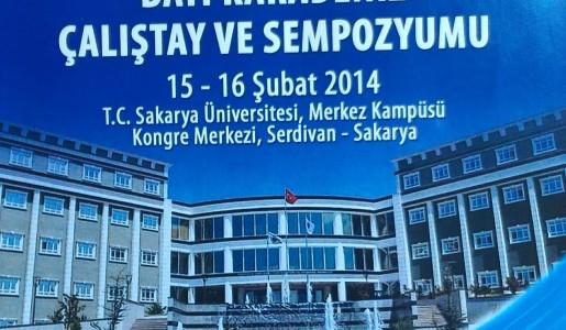 'Trofoblastik Hastalıklar Derneği Batı Karadeniz Çalıştay ve Sempozyumu 15-16 Şubat 2014' te Sakarya'da yapılmıştır