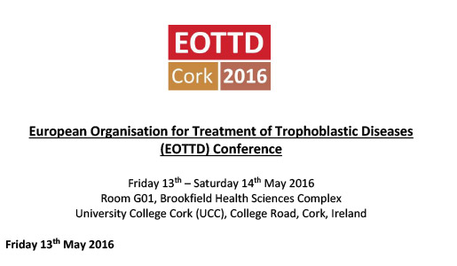 EOTTD 2016 Cork, İrlanda toplantı programı belli oldu